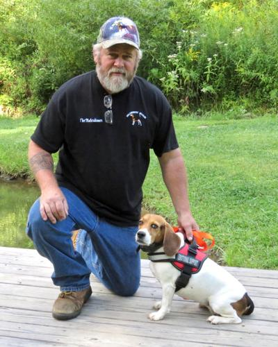 Helping disabled veterans, one beagle at a time