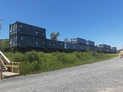 West Valley resumes shipping wastes by rail