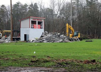 Vets Park construction