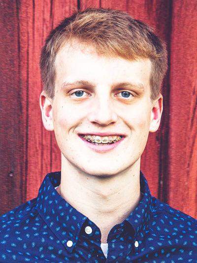 Salutatorian Tyler Hind