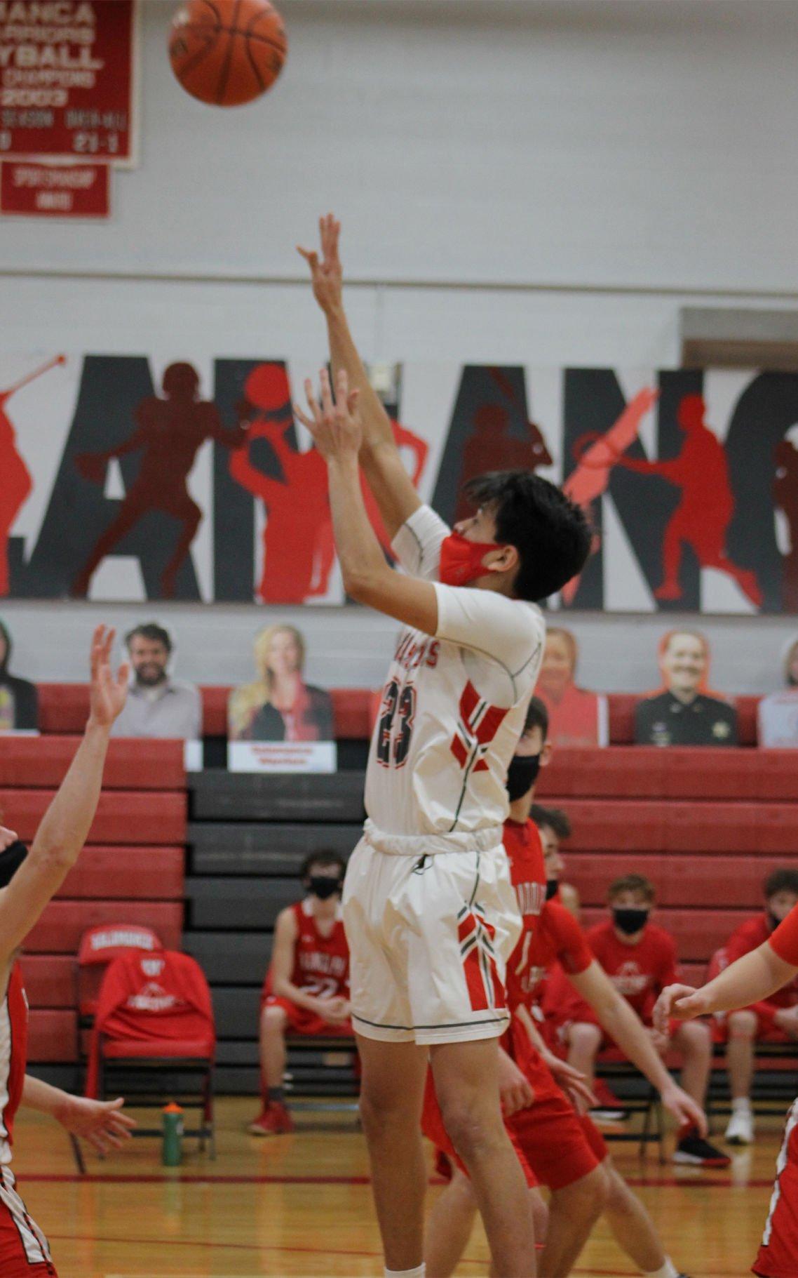 Salamanca-Randolph boys basketball