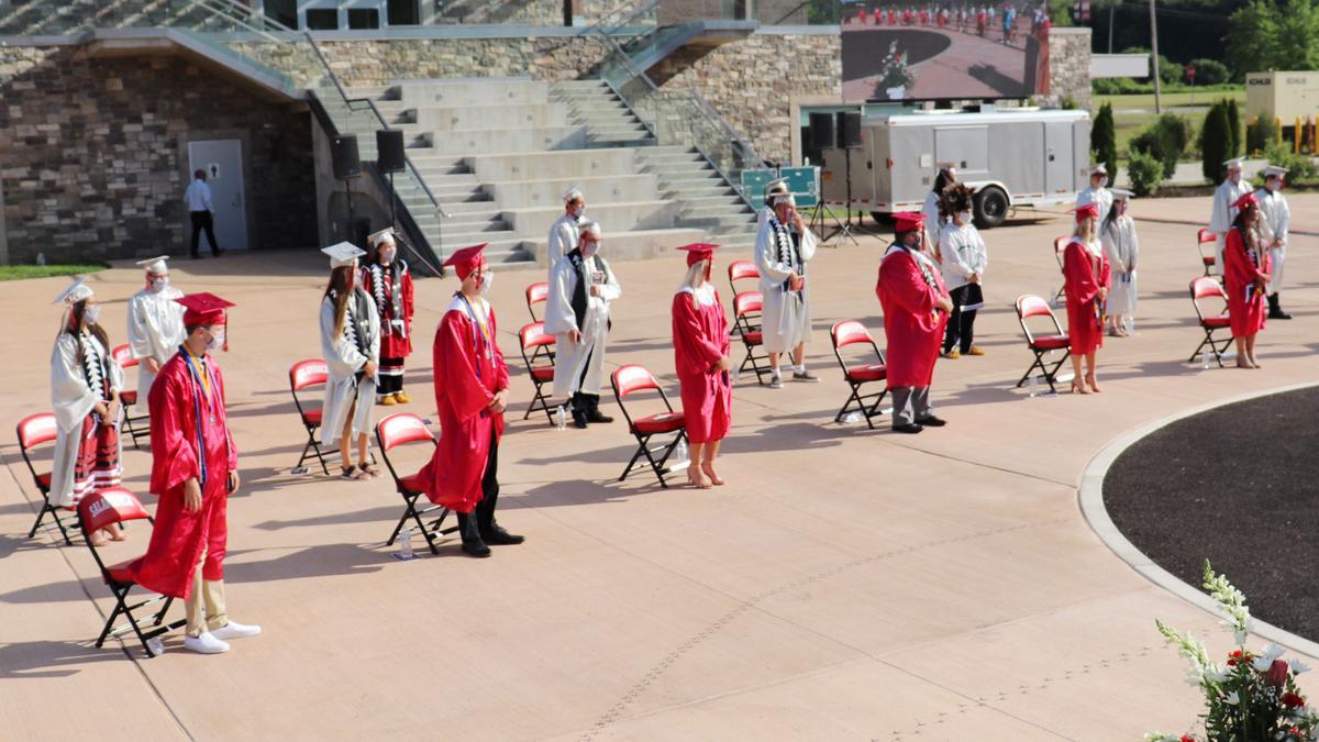 Outdoor ceremonies honor 59 Salamanca graduates