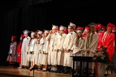 School pride highlights farewell to 80 Salamanca graduates