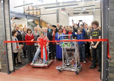 Salamanca school district opens new STEAM wing addition