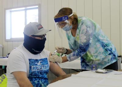 Cattaraugus County opens vaccine POD at Little Valley fairgrounds