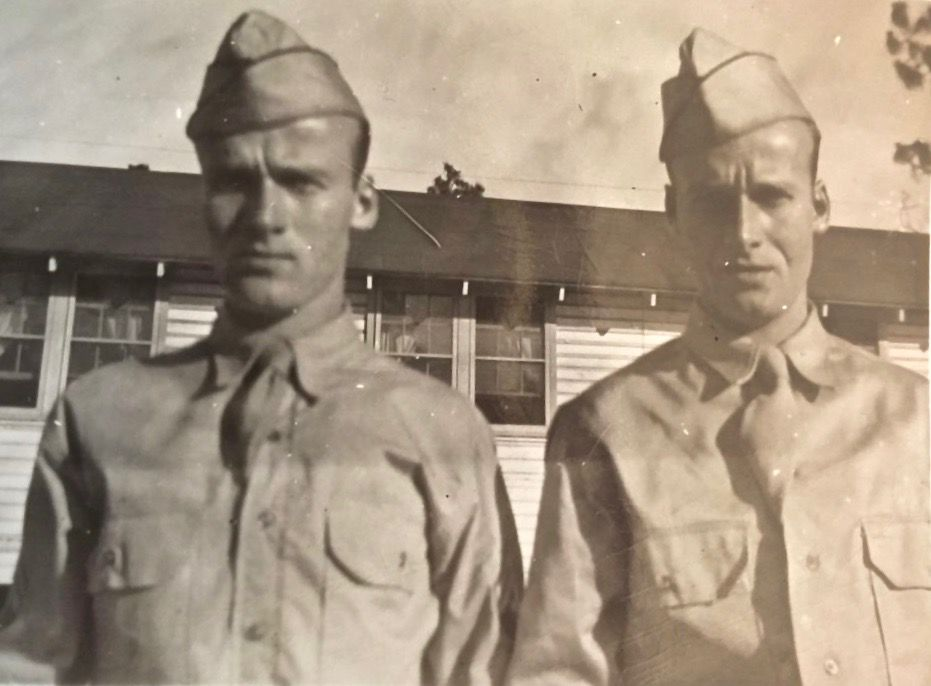 Randolph twin reflects on WWII service with late brother old