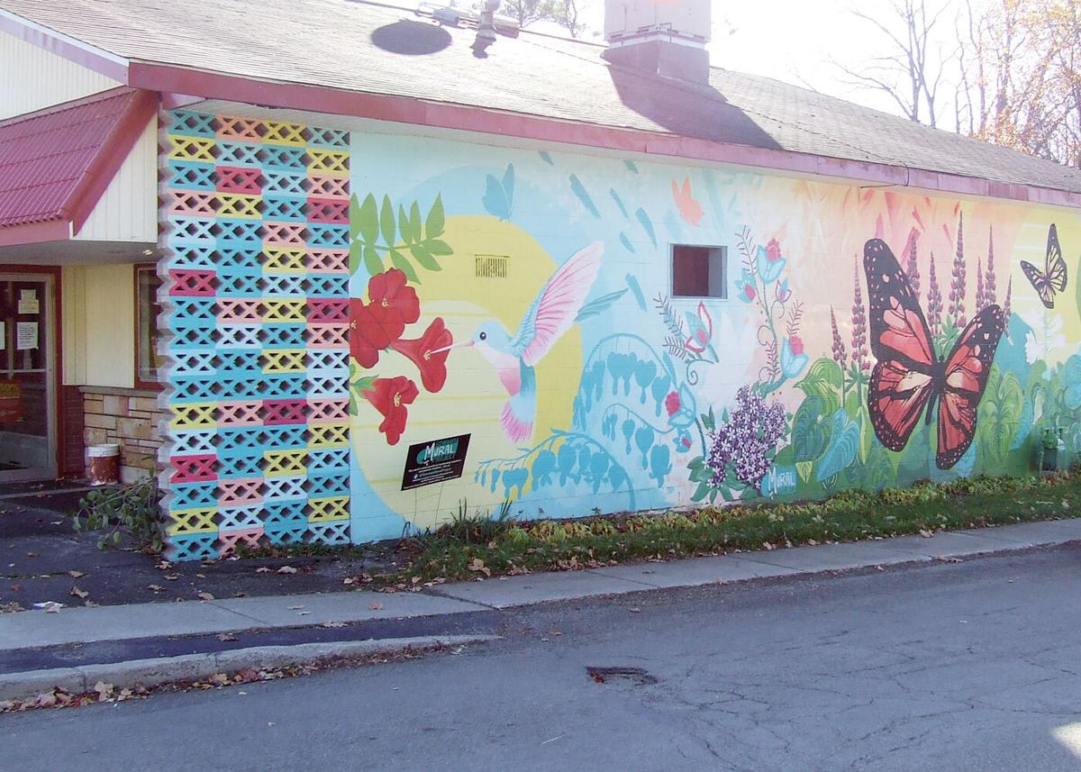 Gowanda Mural Project beautifying village one wall at a time