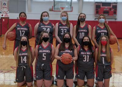 Salamanca girls basketball 2021