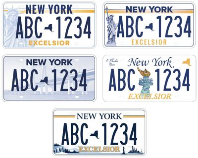 Returning Plates To Dmv Ny >> Gov Cuomo Launches Survey For New Nys License Plate Design