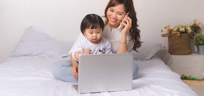 The mom/manager balance: how to be both at home