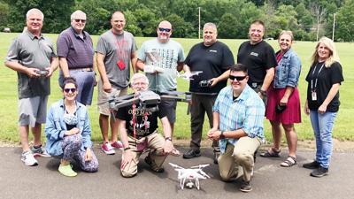 Salamanca teachers, more train for commercial drone test