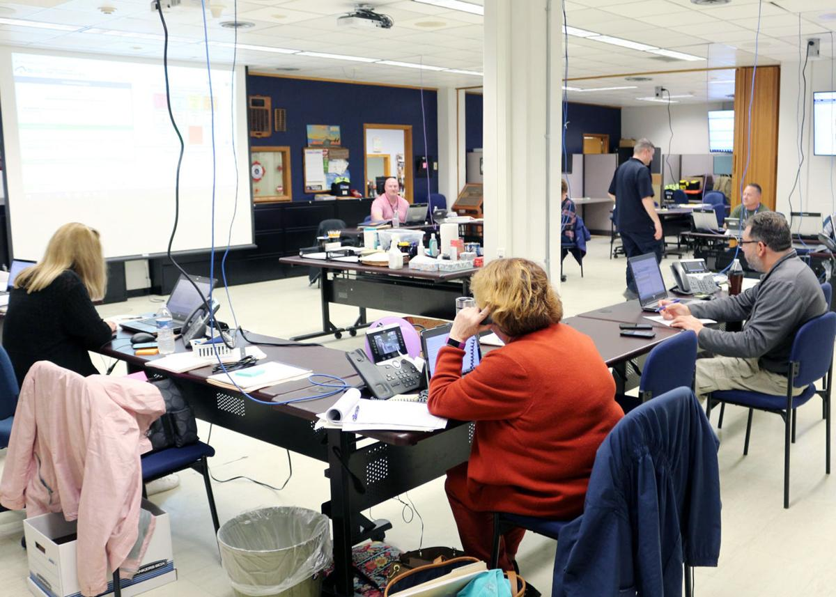 Cattaraugus County Emergency Operations Center up and running