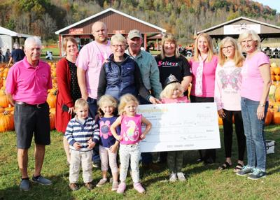 Pumpkinville raises $4,000 from sunflower sales for Pink Pumpkin Project