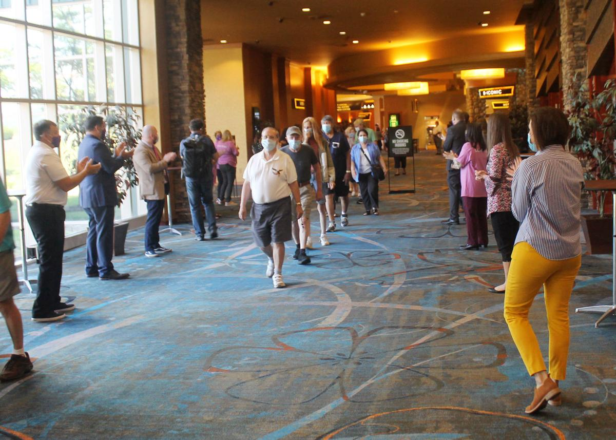 Seneca Allegany Casino reopened to public Thursday welcome