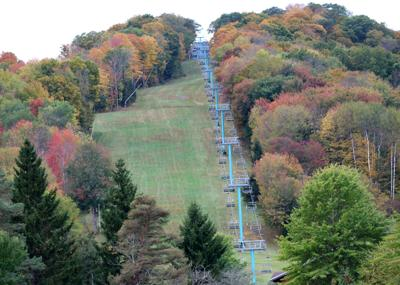 Much of Cattaraugus County at fall foliage midpoint this weekend