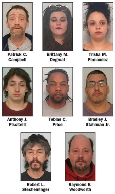 Regional drug task force arrests 8 in Salamanca over two
