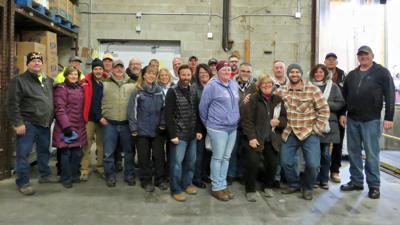 WVDP volunteers deliver over 110K pounds of food to area pantries