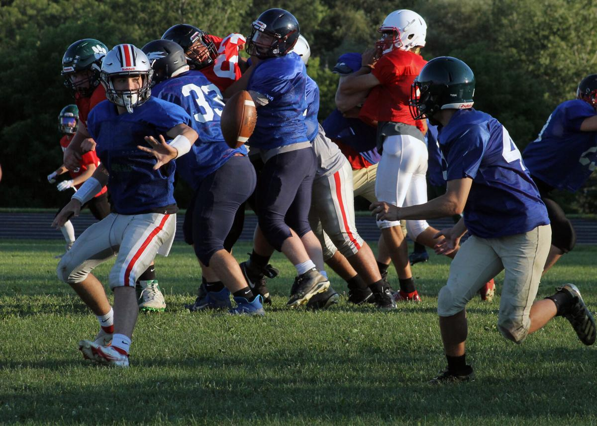 Big 30 football practice