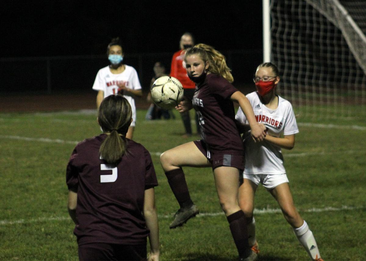 Salamanca at Portville girls soccer