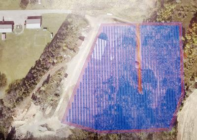 Great Valley board considers solar farm for town gravel pit