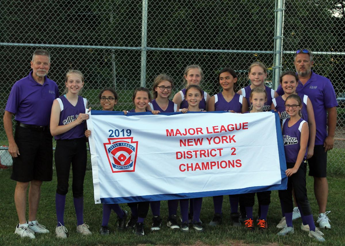 ECLV District 2 softball champions