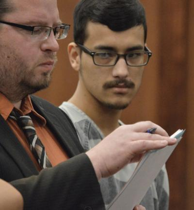 Brandon Francis in Court