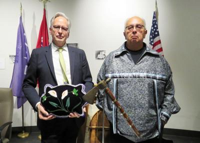 Seneca Nation celebrates return of Cornplanter pipe tomahawk