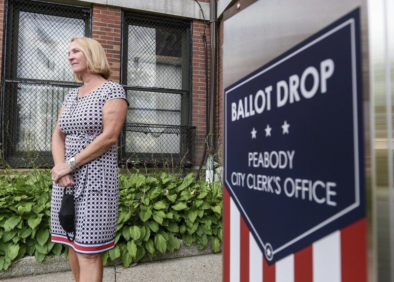 Peabody's new ballot drop box gives in-person option for mail-in ballots