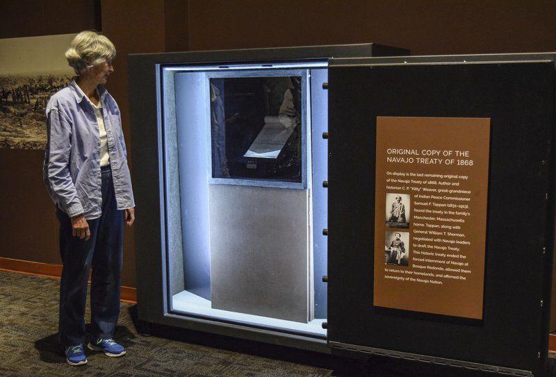 North Shorewoman returns 'crucial artifact' to Navajo
