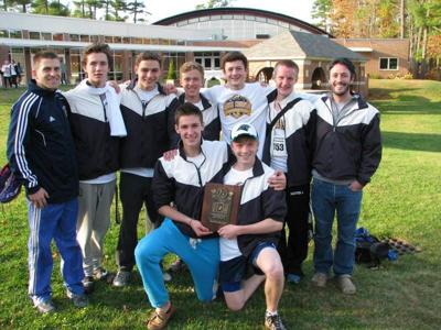 Landmark School boys cross country wins league and NEPSAC championships