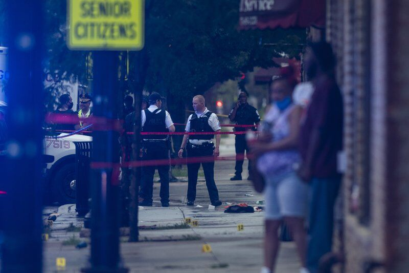 Cops: 15 shot as gunfire erupts outside Chicago funeral home