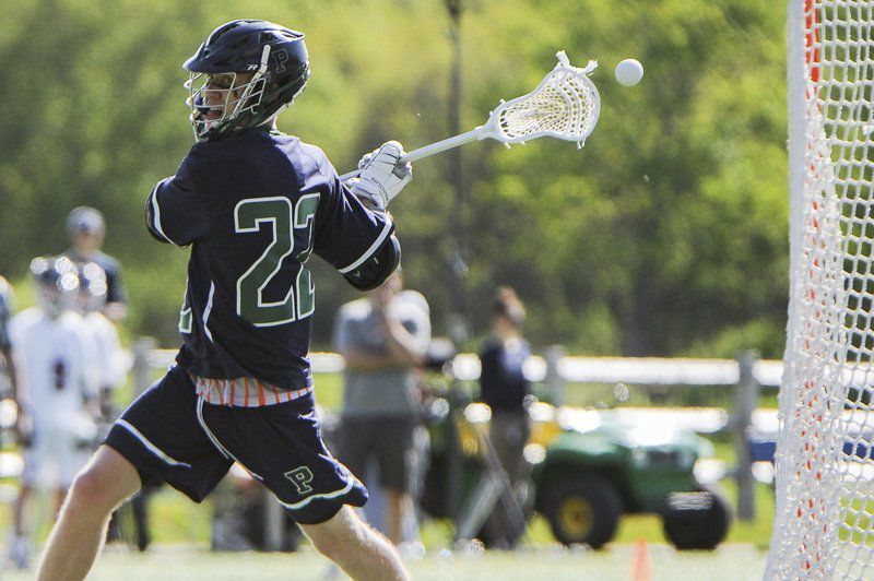 Behind Crehan's 7 goals, Pingree rolls back into prep school title game for 5th straight season