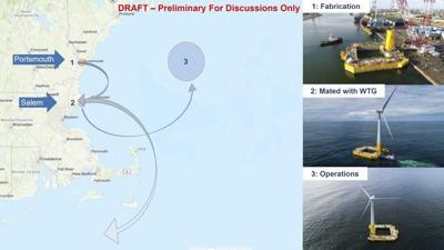 Salem's possible role in building off-shore turbines explored