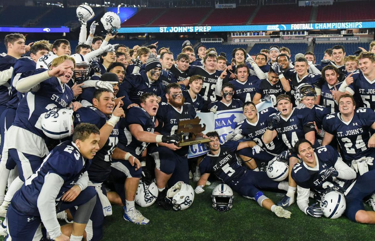St  John's Prep wins Division 1 Super Bowl championship