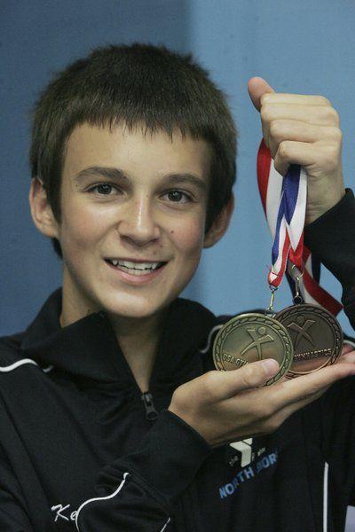 Youngsters Richardson, Rouillard win national gymnastics championships