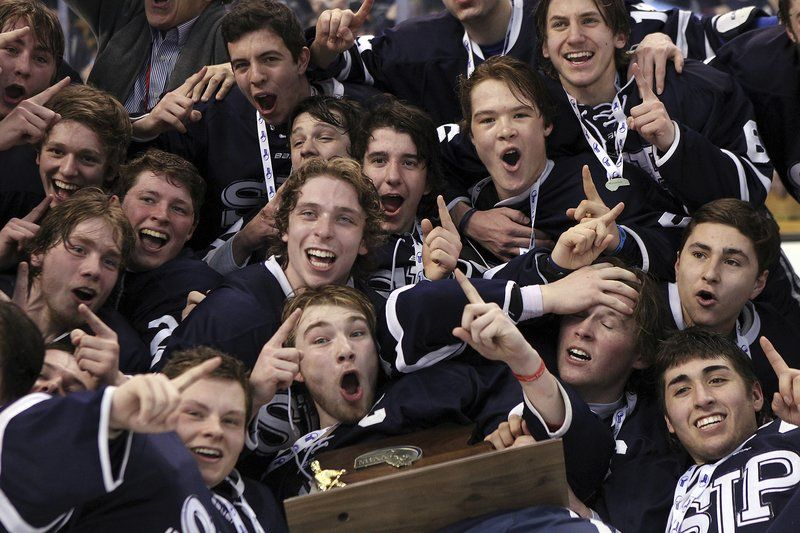 St. John's Prep hockey Super 8 championship photos