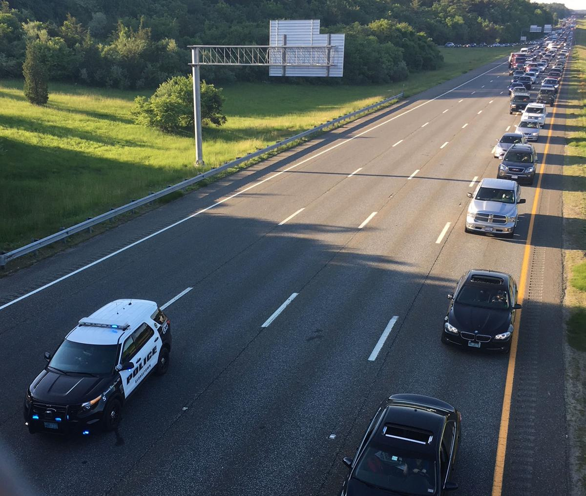 Police chase on Interstate 95 ends in crash   News