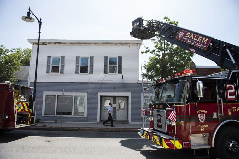 Fire crewsdouse 2-alarm fire on Bridge Street