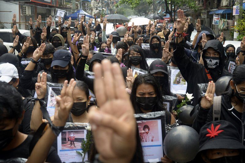 Myanmar junta charges celebrities with promoting protests