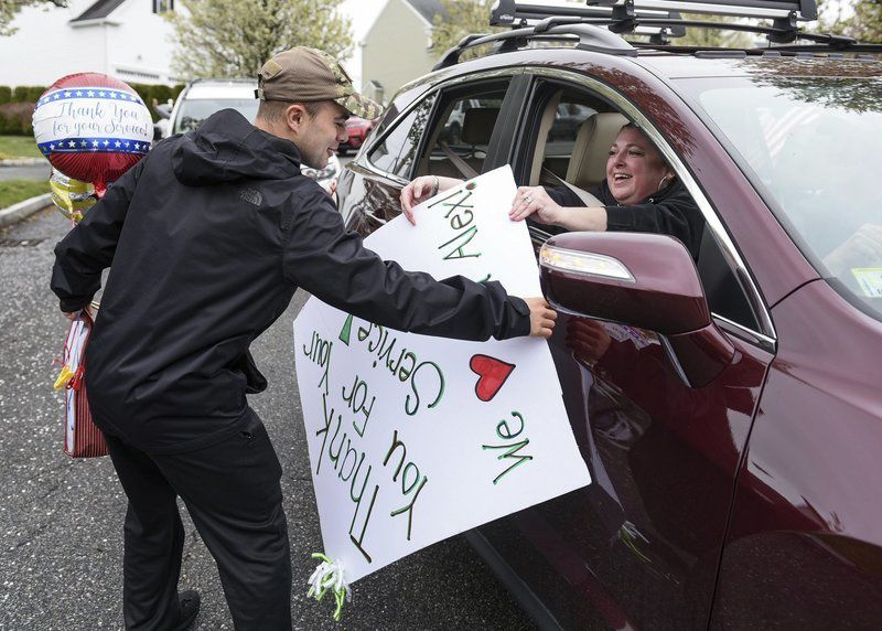 Parade thanks Peabody man for his impending service