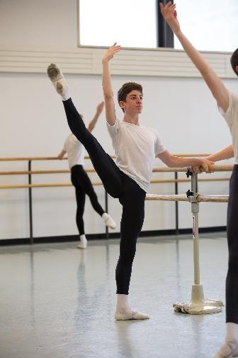 Peabody dancer, Harry Gray, 16, has eye on New York Ballet