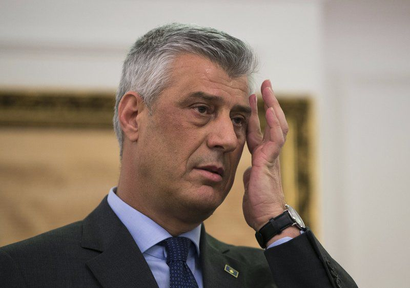 Kosovo president, 9 others indicted on war crimes charges