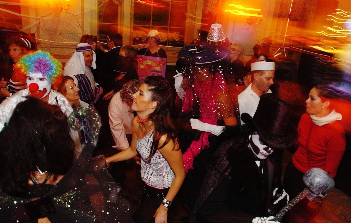 masquerade balls are happening throughout salem this halloween including the annual costume ball at the hawthorne hotel shown here in a previous year