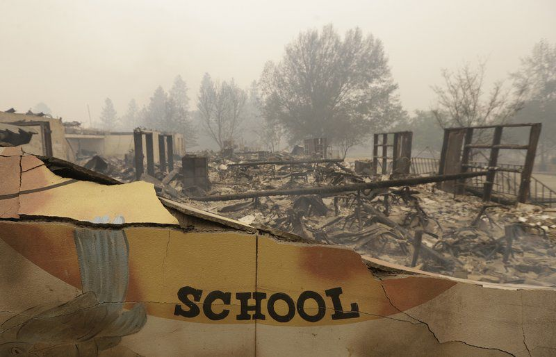 School reopen 3 weeks after California wildfire