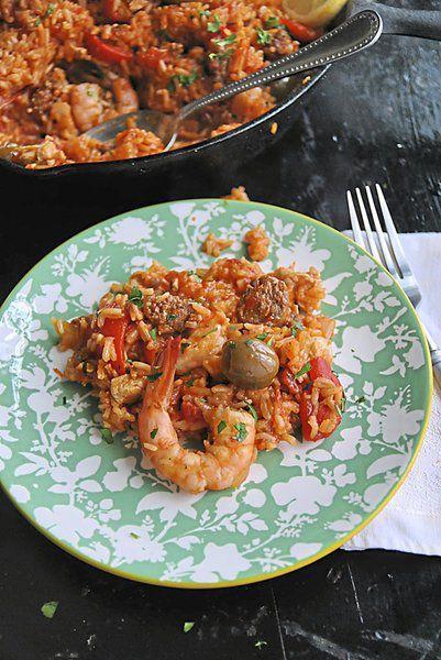 Perfect paella