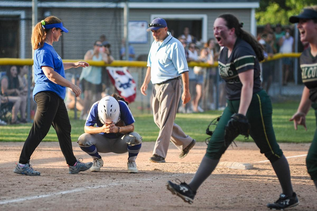 Danvers varsity softball at Dighton-Rehoboth in Division 2 state semifinals
