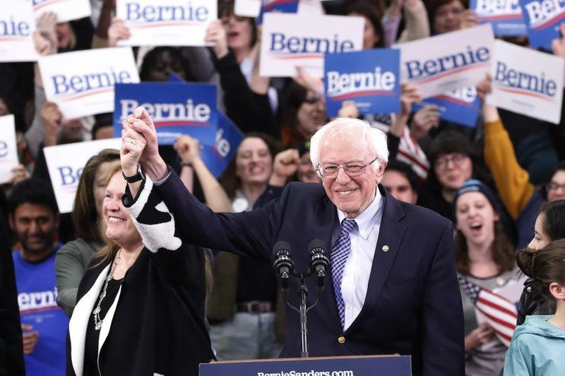 UPDATE: Sanderssnags win in NH