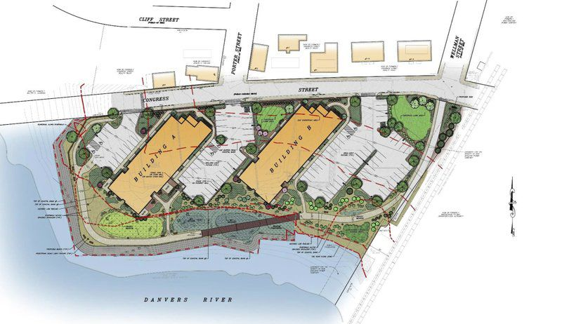 Developer to build apartments on waterfront