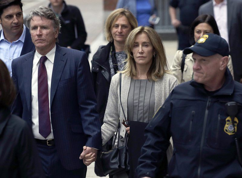 Huffman pleads guilty in college admissions scheme