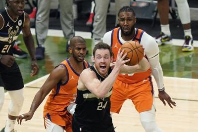 Connaughton, Bucks capture NBA Championship
